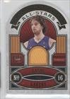 Pau Gasol #27/299 Los Angeles Lakers (Basketball Card) 2009-10 Crown Royale All-Stars Materials #12
