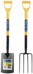 Draper DIY Series 09245 Carbon Fork and Spade Set