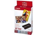Canon Selphy CP810 Printer - KP-36IP Photo Pack - Original Cartridges