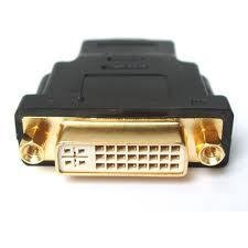 Gold Plated DVI Female To HDMI Male Adapter Converter Pashay Brand