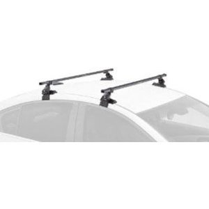 SportRack SR1004 Complete Roof Rack System, Black