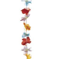12 Hawaiian Flower Leis - Tiki Style !!! (1 Doz)