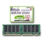 GREEN HOUSE 512MB 168PIN SDRAM DIMM PC133 GH-SVM133/512M