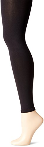 Ingrid & Isabel Women's Maternity Footless Tights, Black, 1/2