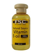 FSC 100iu Vitamin E Oil Liquid 75ml
