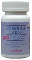 Formula 303 pain relieve natural muscle relaxant 90 tablets