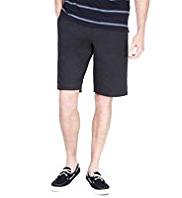 Blue Harbour Pure Cotton Active Waistband Chino Shorts