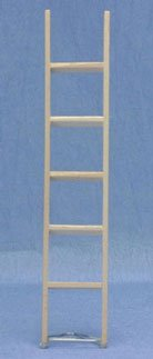 Dollhouse STRAIGHT LADDER, 6 INCH - 1