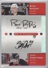 Brian Rafalski, Scott Niedermayer New Jersey Devils (Hockey Card) 2005-06 Upper Deck Be a Player SP Signatures Duals [Autographed] #D-BS