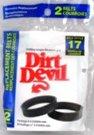 Dirt Devil 3-DJ0900-000 Replacement Vacuum Belt (2 pack) (Dirt Devil Hand Vac Belt compare prices)