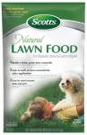 Scotts 46304 29-Pound Organic Choice Lawn Food