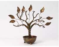 Jewelry Tree w/Bowl Large