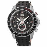 Seiko SPC139P1 Men's Sportura Chronograph, 100m Water Resistant Watch thumbnail