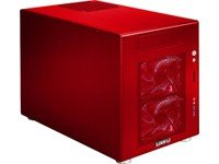 Lian Li PC-V354R Red Aluminum MicroATX Mini Tower Computer Case