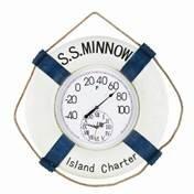 Clock & Fahrenheit Thermometer - S.S. Minnow - LRG