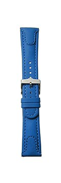 TechnoMarine Blue band Genuine leather padded #USNAVY-3404