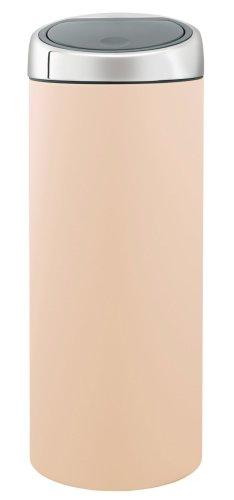 Brabantia Touch Bin, 30 Litre, Almond