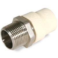 King Brothers 101540 Transition Adapter 1 In. Male Lead Free