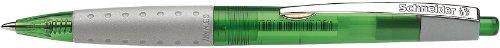SCHNEIDER stylo bille rétractable Loox, trié, corps dans des couleurs translucides, couleur de ...
