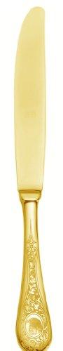 Mepra Diana Ice Oro Fruit Knife, Gold Matt, Set Of 12