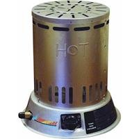 Dura Heat, LPC25, 25K BTU Outdoor Portable LP Convection Heater, Silver