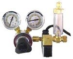 Milwaukee Instruments Solenoid Valve, CO2 Regulator with Bubble Counter