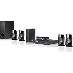 LG BH6820SW 1000W 3D Blu-ray Home Theater System with Smart TV and Wireless Rear Speakers