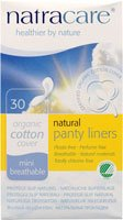 Natracare Natural Breathable Panty Liners Mini - 30 Ea / Pack