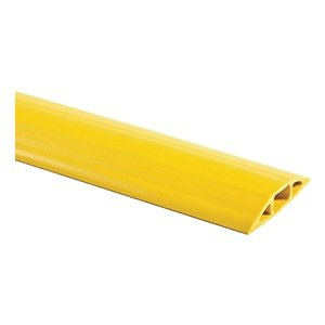 Floor Cable Cover, Yellow, 5Ft