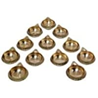 SWS Brass Kuber Diya Brass Deepak Diwali Pooja Item - Deepawali Lighting Brass Oil Diya Diwali Decoration Pooja...