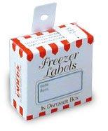 Freezer Labels - Blue Border