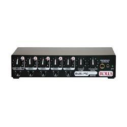 Rolls MX122 MiniMix Pro Mic line 5 Channel Mixer