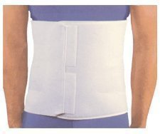 1084XL Binder Compression Abdominal Elastic 4Pnl Velcro XL 12