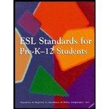 Esl Standards for Pre-K-12 Students