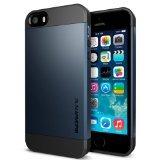Spigen iPhone 5S/5 Case Slim Armor S Metal Slate SGP10365