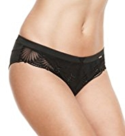 Rosie for Autograph Deco Embroidered Brazilian Knickers