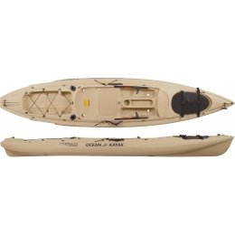 Ocean Kayak Prowler Big Game Angler Sit-On-Top Fishing Kayak, Sand