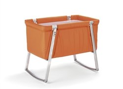 BabyHome Dream - Baby Bassinet | Multi-Use Portable Travel Cot/Crib - Orange
