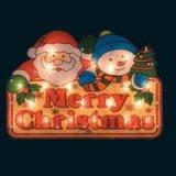クリスマスウィンドウライト メリークリスマス