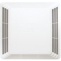 Broan S97011308 Spring Mounted Bathroom Fan Cover/Grille Assembly, White front-457292