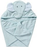 Carter's Hooded Towel - Blue Elephant