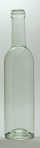 375 ml Clear Semi-Bordeaux Bottles, 24 per case (375 Ml Bottles compare prices)