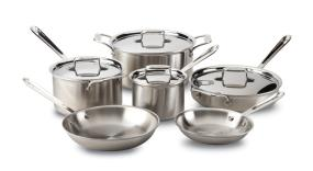 All-Clad d5 Brushed 10-Piece Cookware Set
