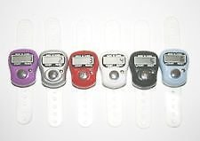 MINI HAND TALLY COUNTER FINGER RING DIGITAL ELECTRONIC HEAD COUNT,JAPA COUNTER