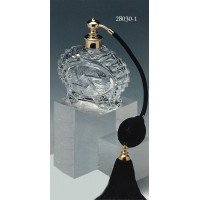 ドイツ製クリスタル香水瓶 リードクリスタル24% アトマイザー 28030ー1