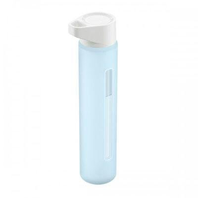 21o8SyevLvL Takeya Contemporary Glass Water Bottle (18oz) SNOW/ ICE BLUE Critiques