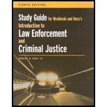 Study Guide for Wrobleski/Hess' Introduction to Law Enforcement and Criminal Justice, 8th (0495005878) by Wrobleski, Henry M.