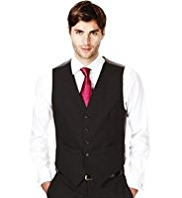 Ultimate Performance 5 Button Waistcoat with Wool