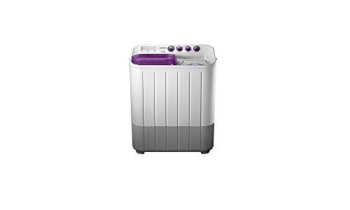 Samsung WT655QPNDRP/XTL Semi Automatic Washing Machine (6.5 Kg , White and Purple)