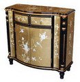 Cheap Oriental Golden Antique Style Chest / Console Table (YW3252)